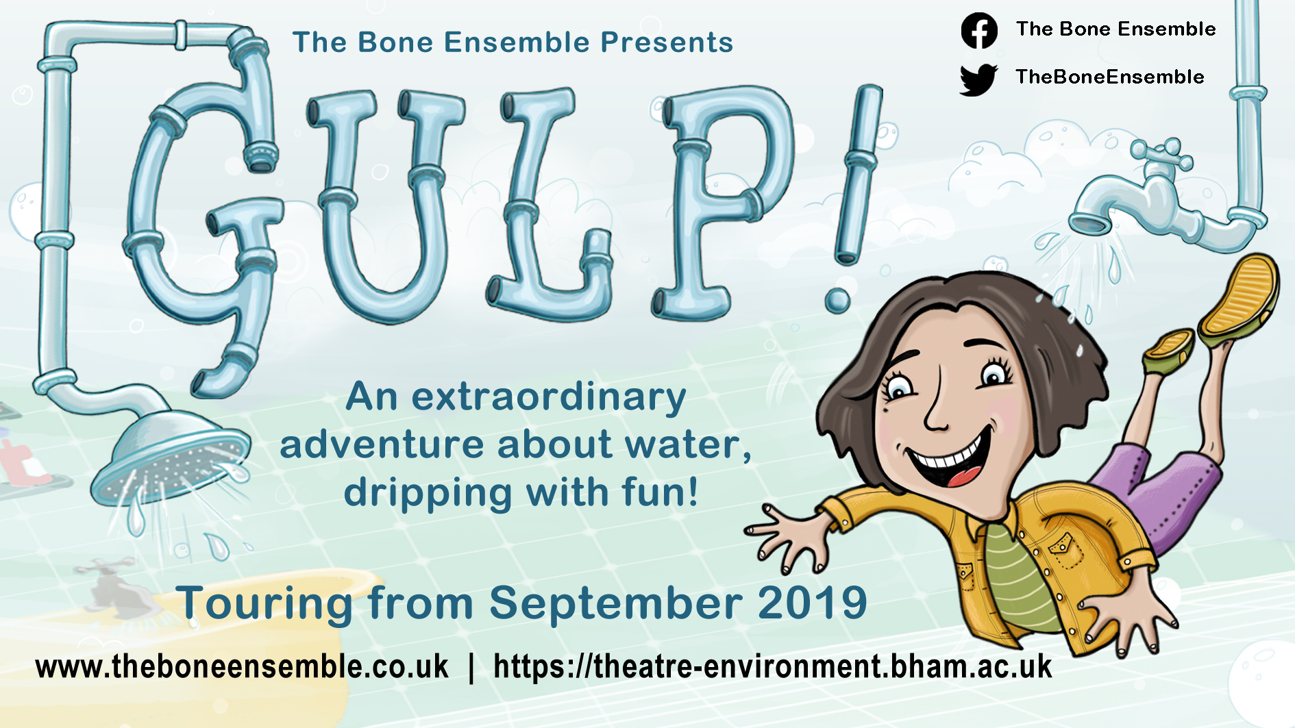 Gulp! promotional poster